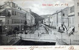 CELLE LIGURE)-Vg Il 20 03 1902-per CORTEMILIA-ORIGINALE D'Epoca Al100%-2 Scann- - Savona