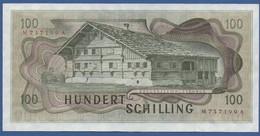 AUSTRIA - P.145 – 100 Schilling 02.01.1969 - XF Serie M 737199 A - Austria