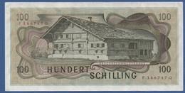 AUSTRIA - P.145 – 100 Schilling 02.01.1969 - XF Serie F 386747 G - Austria