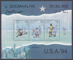 1994 Somalia 511-513/B30 1994 FIFA World Cup In USA - 1994 – Stati Uniti