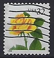 USA  1996  Flowers, Rose  (o) Mi.2795  BA - Gebraucht