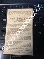 [V] Bogaerts Lucia Van Thienen Petrus Wolvertem 1890 1936 - Obituary Notices