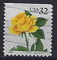 USA  1996  Flowers, Rose  (o) Mi.2795  BDo - Gebraucht