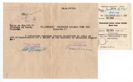 02.04.1941. WWII APRIL WAR,SERBIA,NOVI SAD,KINGDOM OF YUGOSLAVIA RIVER NAVY COMMAND PAYMENT RECEIPT, - Documenti Storici