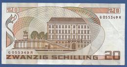 AUSTRIA - P.148 – 20 Schilling 01.10.1986 - VF Serie G 055349 R - Austria