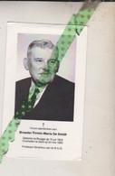 Broeder Firmin-Maria De Smidt, Brugge 1904, Gent 1983. Professor-Emeritus R.U.G. Foto - Obituary Notices