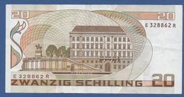 AUSTRIA - P.148 – 20 Schilling 01.10.1986 - VF Serie E 328862 R - Austria