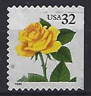 USA  1996  Flowers, Rose  (o) Mi.2795  BDr - Gebraucht