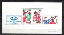 Mali 1978,3V In Block, Football,fussball,voetbal,fútbol,calcio ,MNH/Postfris(L3688) - 1978 – Argentine