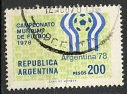 CMF Argentine - Argentinien - Argentina 1978 Y&T N°1110 - Michel N°1323 (o) - 200p Coupe Du Monde De Football - 1978 – Argentine