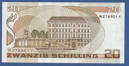 AUSTRIA - P.148 – 20 Schilling 01.10.1986 - AUNC Serie M 276901 Y - Austria