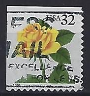 USA  1996  Flowers, Rose  (o) Mi.2795  BElo - Gebraucht