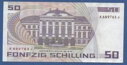 AUSTRIA - P.149 – 50 Schilling 02.01.1986 - Circulated Serie K 689763 J - Austria