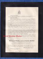 Document De 1914 - MONTPELLIER - Pierre Louis Etienne MARES Président Société Centrale D' Agriculture De L' Hérault - Documenti Storici