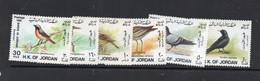 BIRDS - JORDAN - 1988  - BIRDS SET OF 6  MINT NEVER HINGED, SG. CAT £31.50 - Piccioni & Colombe