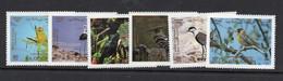 BIRDS - JORDAN - 1987  - BIRDS SET OF 6  MINT NEVER HINGED, SG. CAT £18 - Piccioni & Colombe