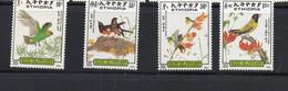 ETHIOPIA - 1989- BIRDS SET OF 4 MINT NEVER HINGED, SG CAT £15.75 - Piccioni & Colombe
