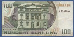 AUSTRIA - P.150 – 100 Schilling 02.01.1984 - Circulated Serie K 550876 P - Austria