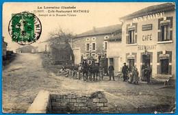 CPA La Lorraine Illustrée 54 FLIREY - CAFE RESTAURANT MATHIEU Entrepôt De La Brasserie L'Union - Sonstige Gemeinden