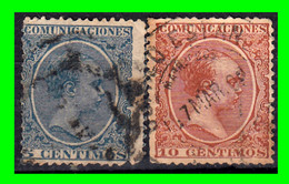 FILIPINAS -&-  SELLO AÑO 1889-1889 TIPO ALFONSO XIII - ( OFERTA ) - Used Stamps