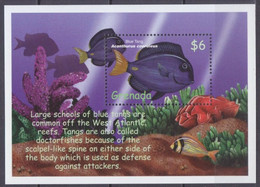 2000 Grenada 4297/B565 Marine Fauna7,00 € - Altri