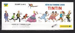 France 2000,7V In Booklet,,kuifje,tintin,Used/Gestempeld(L3689) - Altri
