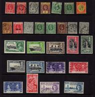 Sainte-Lucie (1912-46) - Georges V - George VI - Neufs* Et Oblit - St.Lucia (...-1978)