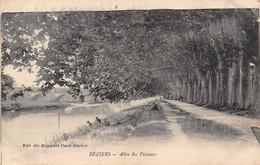34 - BEZIERS - Allée Des Platanes - Beziers