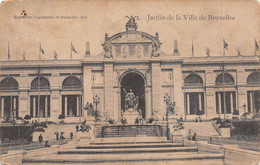 BRUXELLES - Exposition Universelle 1910 - Jardin De La Ville De Bruxelles - Wereldtentoonstellingen