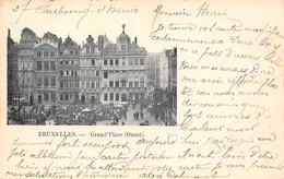 BRUXELLES - Grand'Place (Ouest). - Marktpleinen, Pleinen