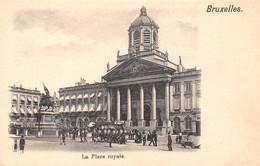 BRUXELLES - La Place Royale. - Marktpleinen, Pleinen