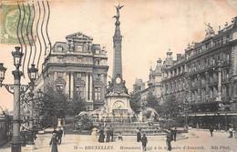 BRUXELLES - Monument élevé à La Mémoire D'Anspach - Monumenten, Gebouwen