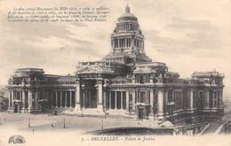 BRUXELLES - Palais De Justice - Monumenten, Gebouwen