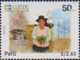 PERU, 2021, MNH, COFIDE, DEVELOPMENT FUND, AGRICULTURE, ENERGY, CARS, 1v - Altri