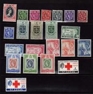 Sainte-Lucie (1953-63)  - Elizabeth II- Neufs* Et Oblit - St.Lucia (...-1978)