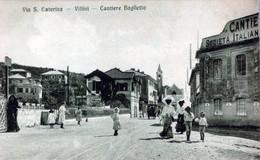 UN SALUTO Da VARAZZE -Villini -Cantiere Baglietto-ORIGINALE D'Epoca Al100%-2 Scann- - Savona