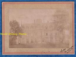 Photo Ancienne Vers 1900 - RICHARMENIL ( Meurthe Et Moselle ) - Château De Ludres - Prés Nancy - Histoire Architecture - Oud (voor 1900)