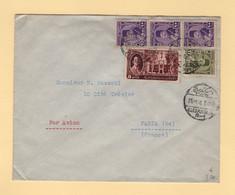 Egypte - Alexandrie - 1946 - Par Avion Destination France - Covers & Documents