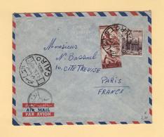 Egypte - Le Caire - 1955 - Par Avion Destination France - Covers & Documents
