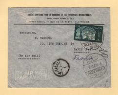 Egypte - Alexandrie - 1959 - Par Avion Destination France - Covers & Documents