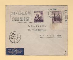 Egypte - Le Caire - 1956 - Par Avion Destination France - Covers & Documents
