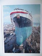 Launching Polish Cargo Ship Syn Pułku  Shipyard Szczecin  / Photo  Reproduction - Autres