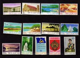 Sainte-Lucie (1964)  - Elizabeth II- Neufs**  - MNH - St.Lucia (...-1978)