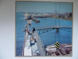 Szczecin Port  Poland Ships /  Photo Reproduction - Autres