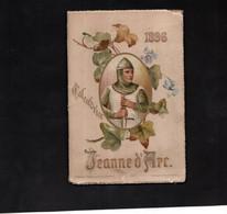 Calendrier 1896 JEANNE D'ARC Avec Textes Et Illustrations - Formato Piccolo : ...-1900