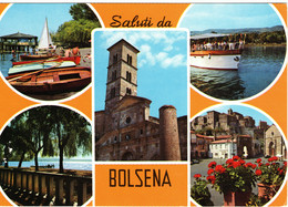 BOLSENA - VEDUTINE MULTIVUES - NUOVA - Altre Città