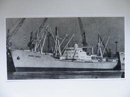 Polish Cargo  Henryk Jendza In Szczecin Port   /  Photo Reproduction - Autres