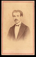 Fotografia Antiga - Photographia H.P.MAC-DONALD Luso-Escossesa, Rua Das Flores LISBOA. Old CDV Portugal - Oud (voor 1900)