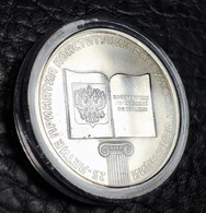 Russia 25 Rubles, 2018 25 Years Of The Adoption Of The Constitution (capsule) - Russia