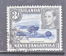 K U T  82  Perf. 13-12 1/2   (o) - Kenya, Uganda & Tanganyika